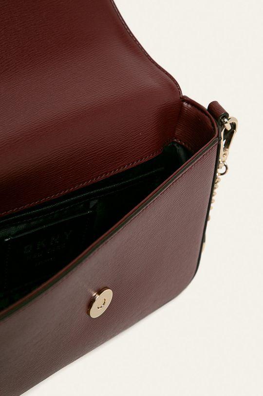červená Dkny - Kožená kabelka