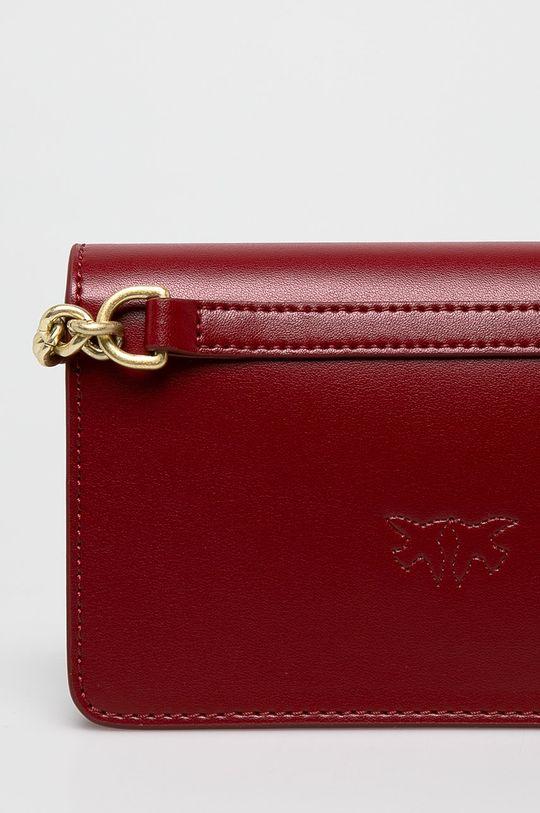 červená Pinko - Kožená kabelka