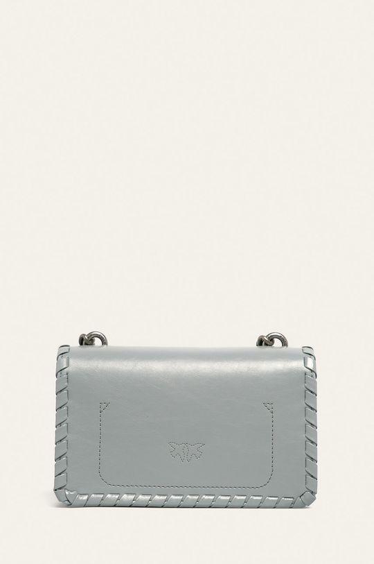 svetlosivá Pinko - Kožená kabelka