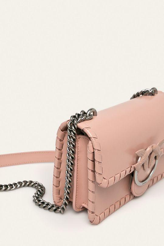 Pinko - Kožená kabelka  100% Prírodná koža