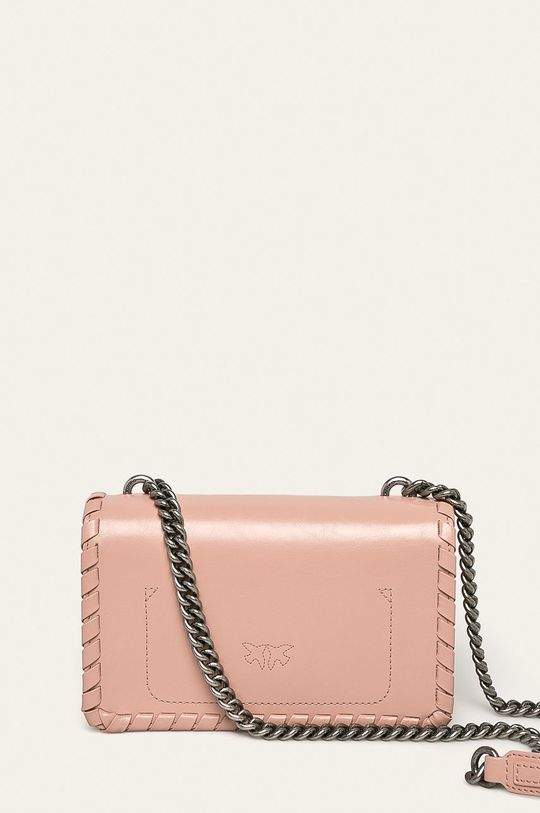 ružová Pinko - Kožená kabelka
