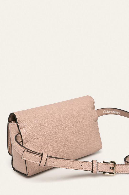 Calvin Klein - Ledvinka pastelově růžová