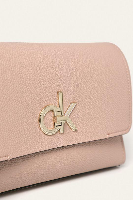 Calvin Klein - Kabelka pastelová ružová