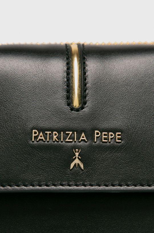 Patrizia Pepe - Kožená ľadvinka čierna