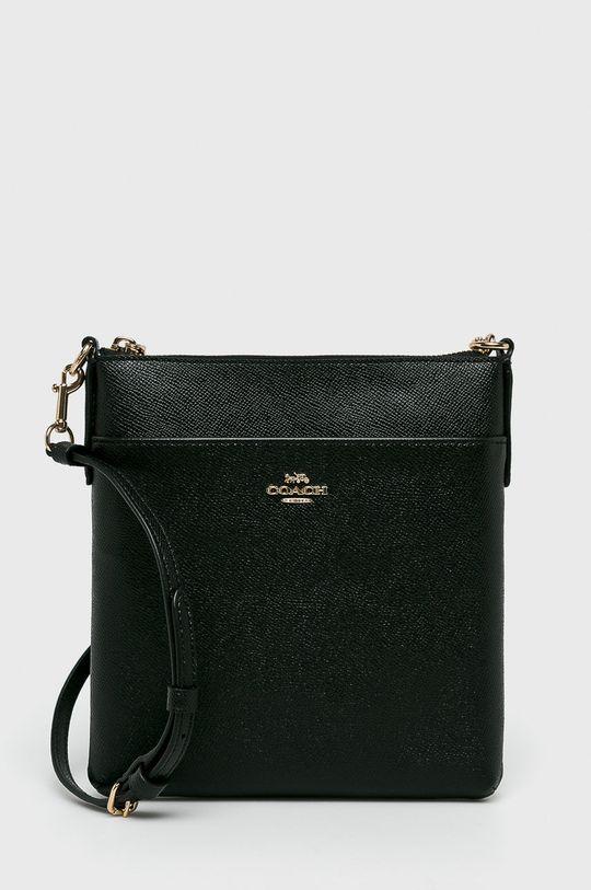 negru Coach - Poseta de piele De femei
