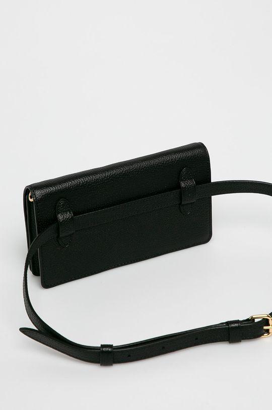 negru Coach - Poseta de piele