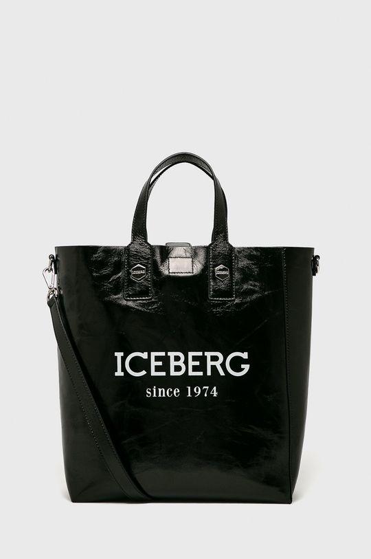 negru Iceberg - Poseta de piele De femei