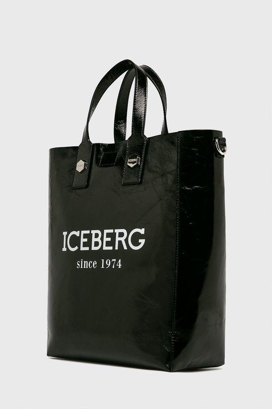 Iceberg - Poseta de piele negru