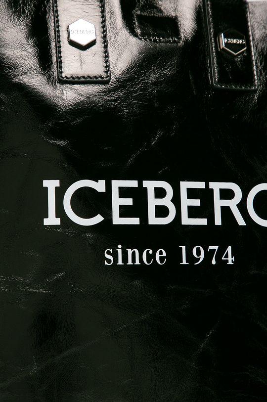 negru Iceberg - Poseta de piele