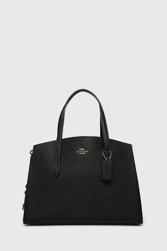 černá Coach - Kožená kabelka Dámský