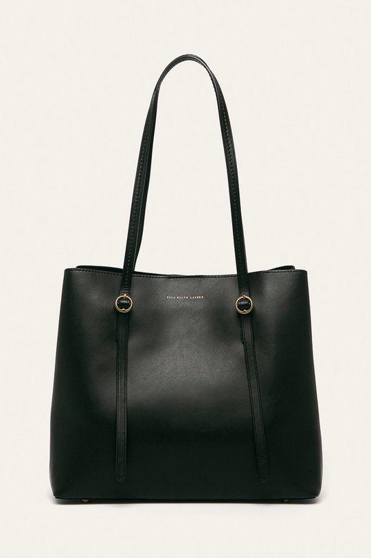 černá Polo Ralph Lauren - Kožená kabelka Dámský