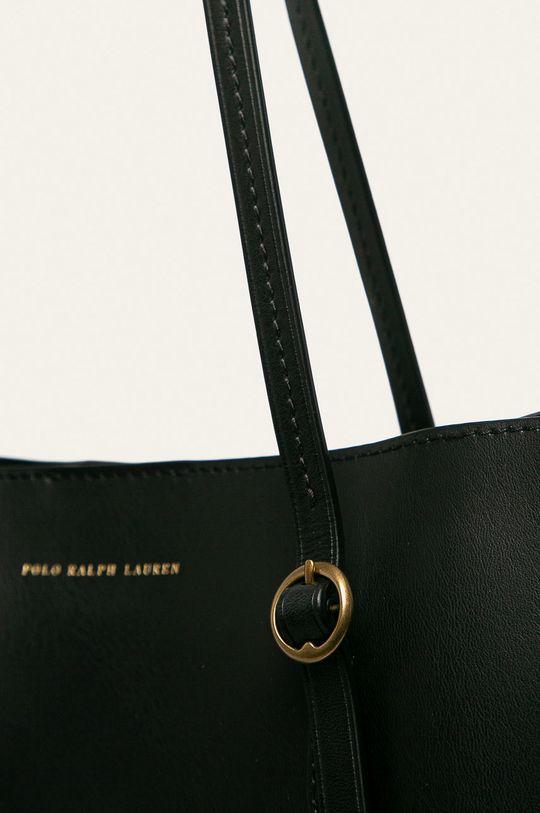 Polo Ralph Lauren - Kožená kabelka černá