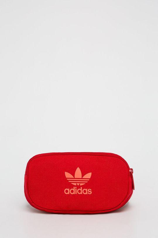 červená adidas Originals - Ledvinka Pánský