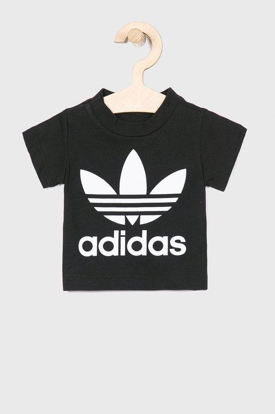 чорний adidas Originals - Дитяча футболка 62-104 cm Для хлопчиків