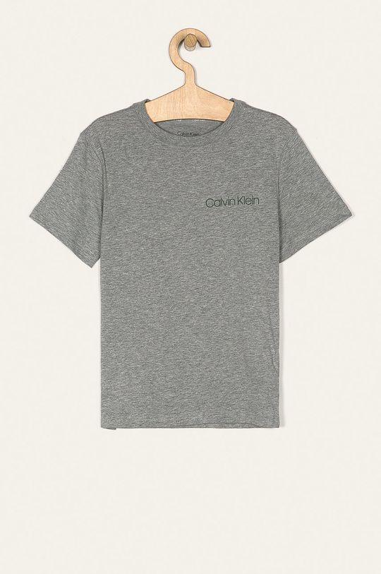 Calvin Klein Underwear - Detské tričko 128-176 cm (2 pak) tmavozelená