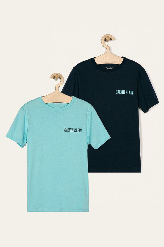albastru Calvin Klein Underwear - Tricou (2-pack) De băieți
