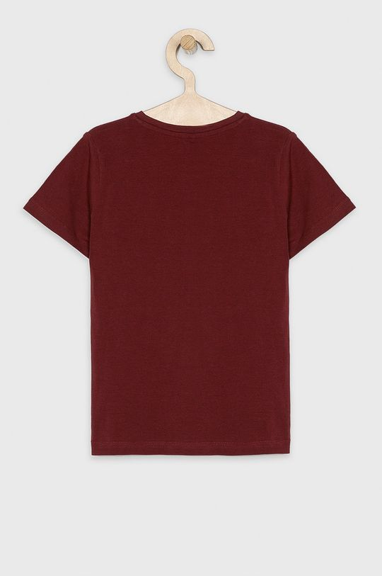 Name it - Dětské tričko 116-164 cm mahagonová