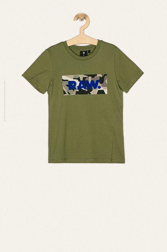 verde inchis G-Star Raw - Tricou copii 128-176 cm De băieți