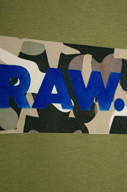 G-Star Raw - Tricou copii 128-176 cm verde inchis