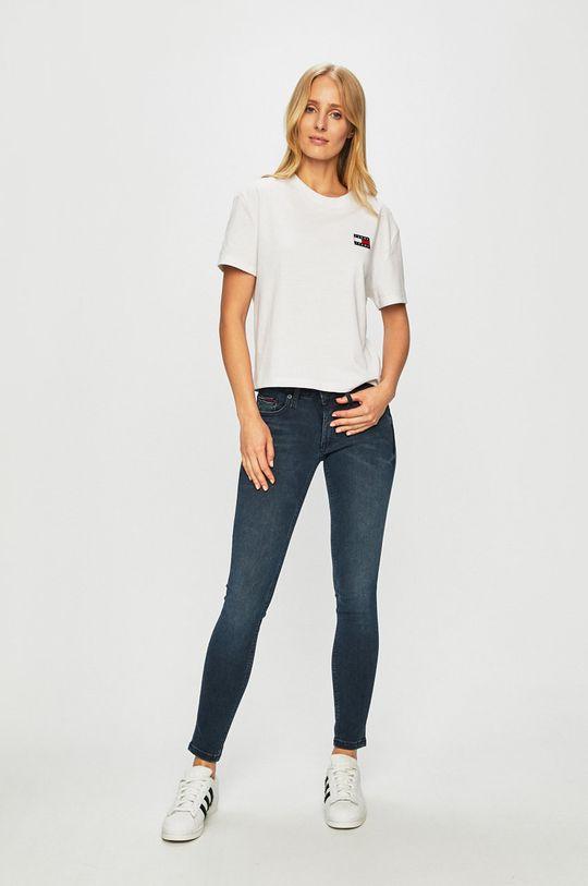Tommy Jeans - Top bílá