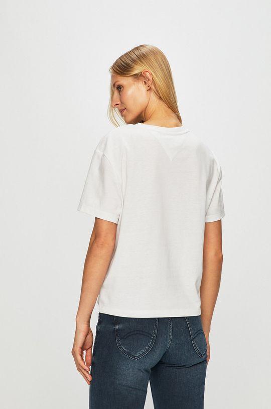 Tommy Jeans - Top  50% Bavlna, 50% Polyester
