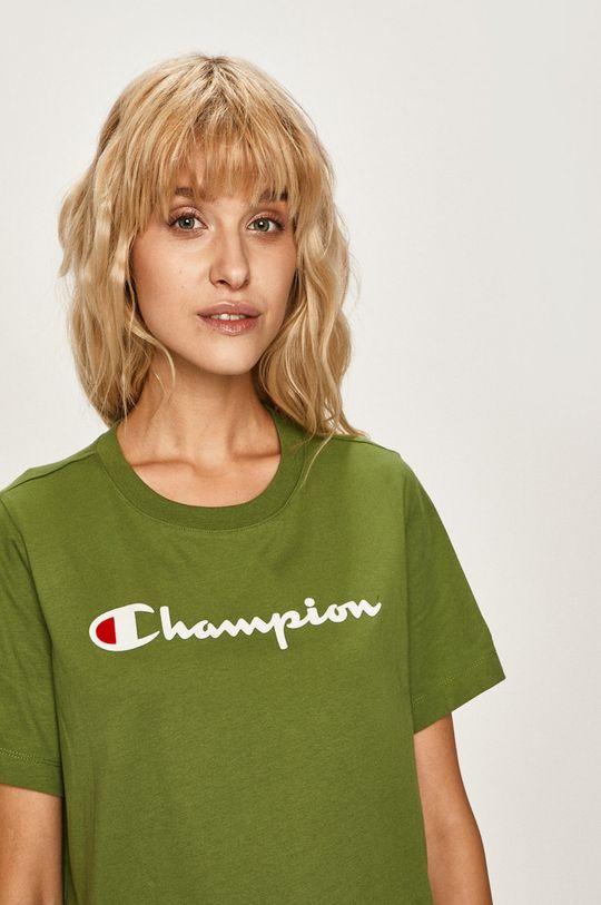 verde inchis Champion - Tricou De femei