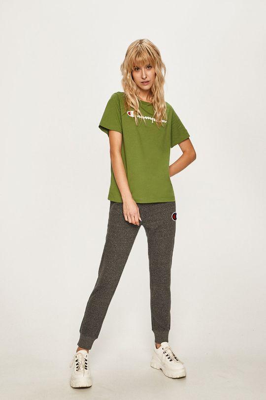 Champion - Tricou verde inchis