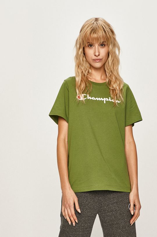 verde inchis Champion - Tricou
