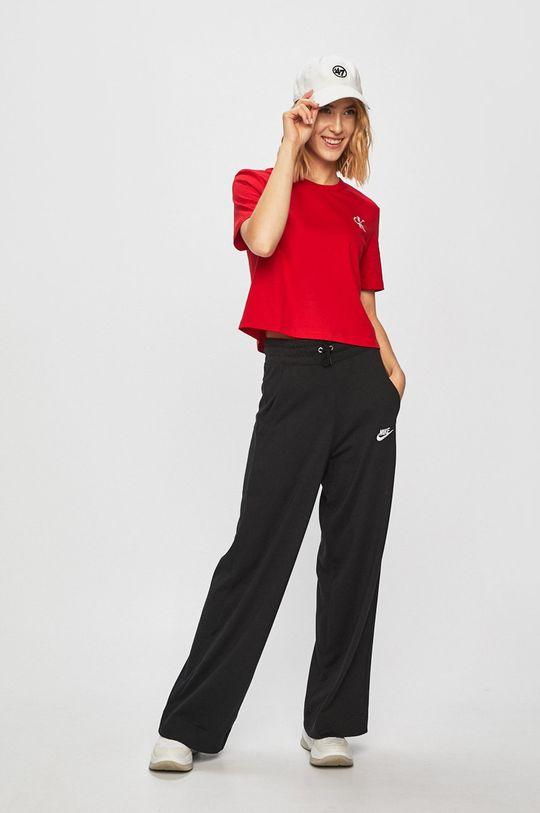 červená Calvin Klein Jeans - Tričko Dámský