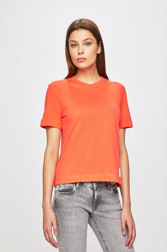 portocaliu Calvin Klein Jeans - Top De femei