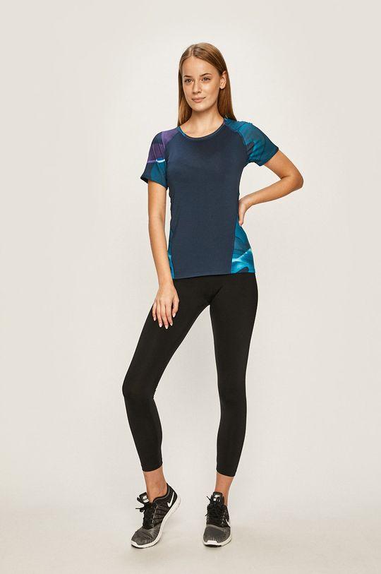 Desigual Sport - Tričko tmavomodrá