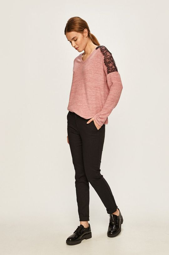 Vero Moda - Sweter brudny róż