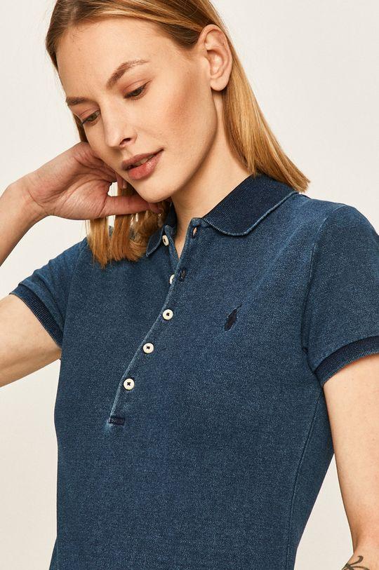 granatowy Polo Ralph Lauren - T-shirt Damski