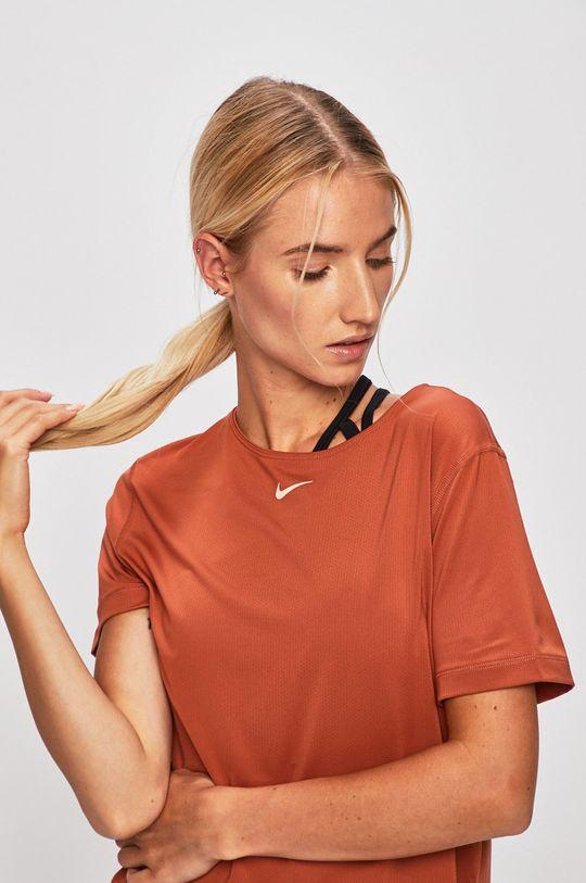 hnědá Nike - Tričko