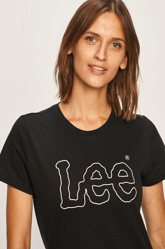 čierna Lee - Tričko