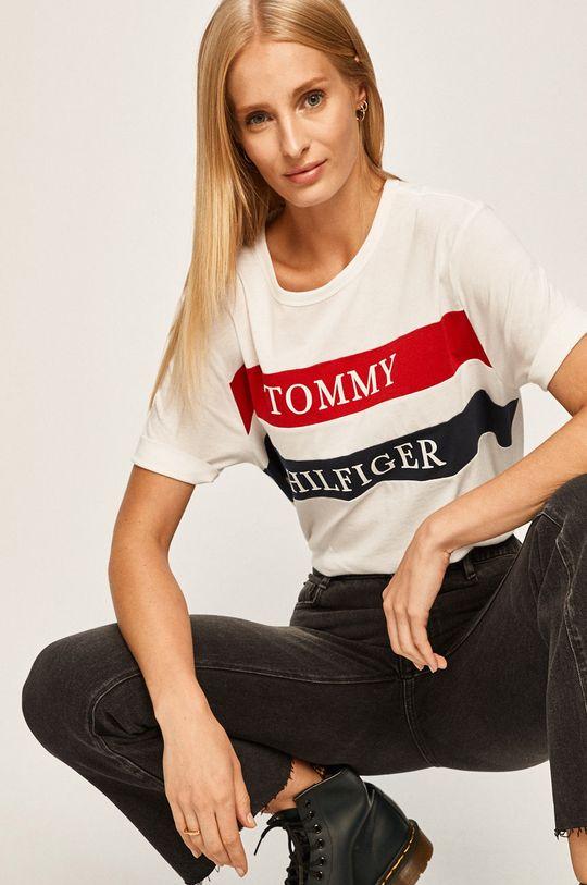 Tommy Hilfiger - Tricou alb