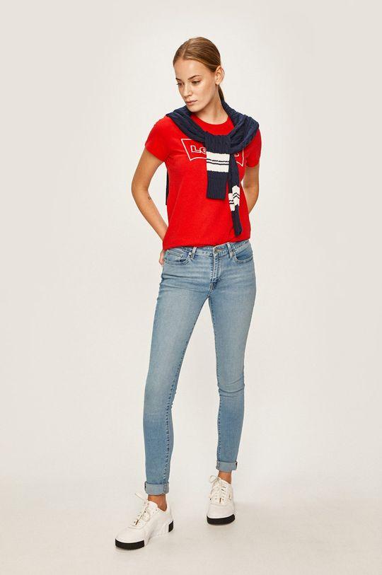 Levi's - Tričko červená