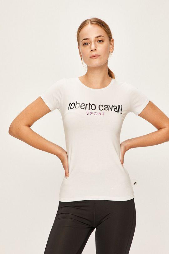 alb Roberto Cavalli Sport - Tricou
