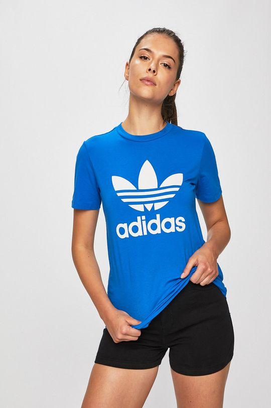 modrá adidas Originals - Top Dámský