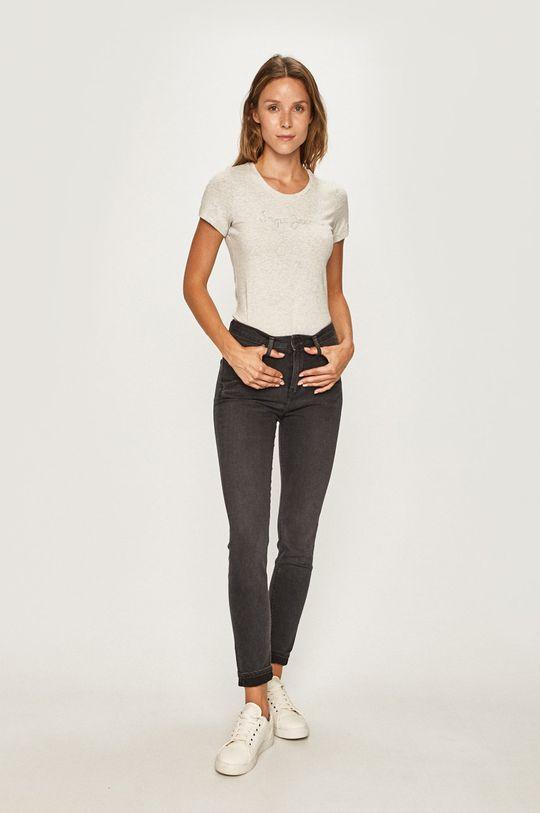 Pepe Jeans - T-shirt Mika szary