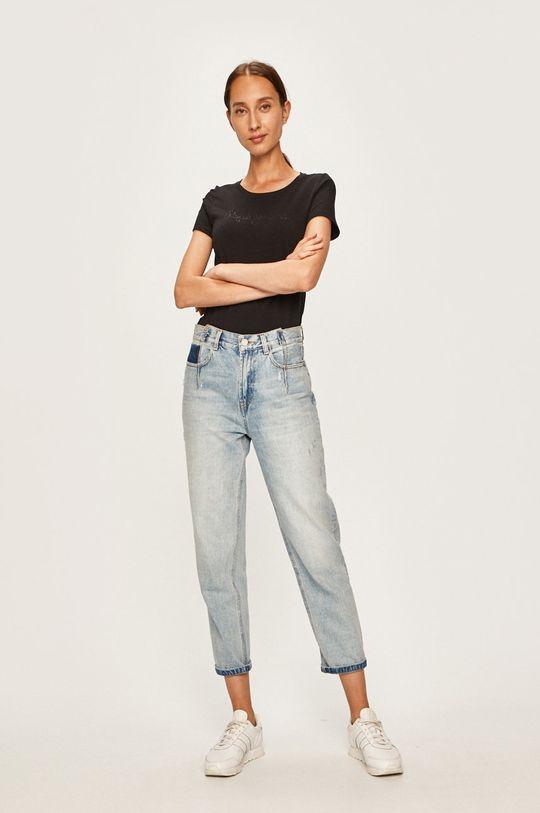 Pepe Jeans - T-shirt Mika czarny