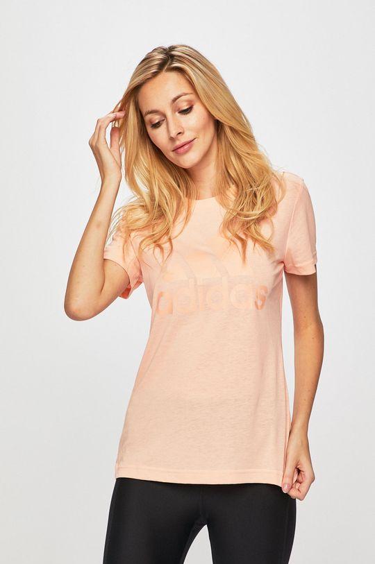 rózsaszín adidas Performance - T-shirt Női
