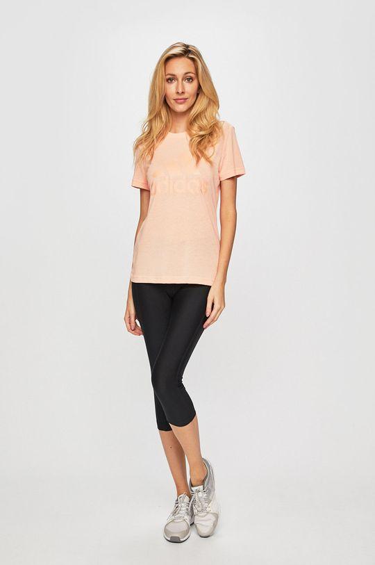adidas Performance - T-shirt rózsaszín