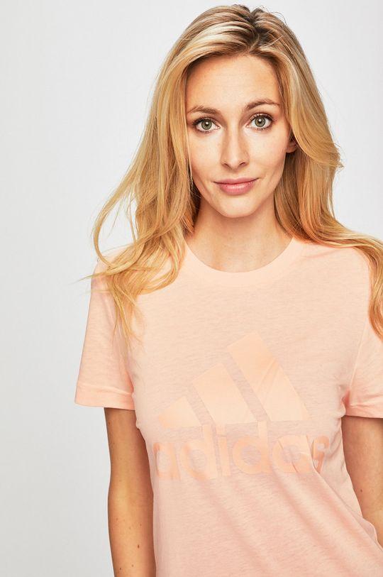 rózsaszín adidas Performance - T-shirt