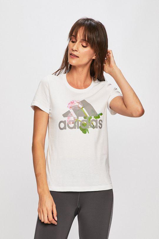 fehér adidas Performance - T-shirt Női