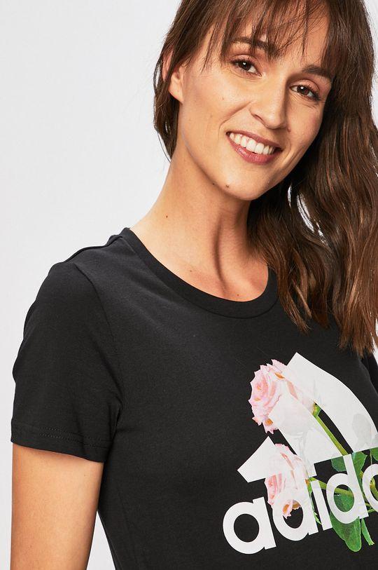 fekete adidas Performance - T-shirt