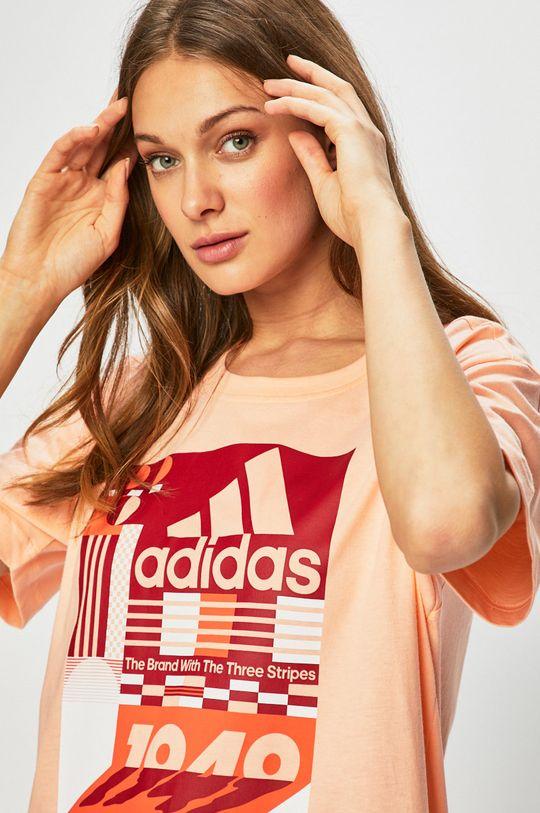 őszibarack színű adidas Performance - Top