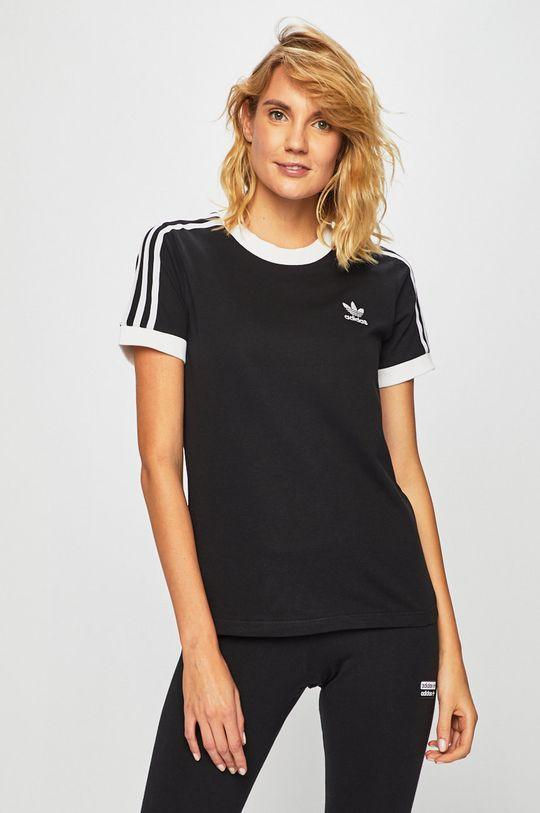 černá adidas Originals - Tričko Dámský