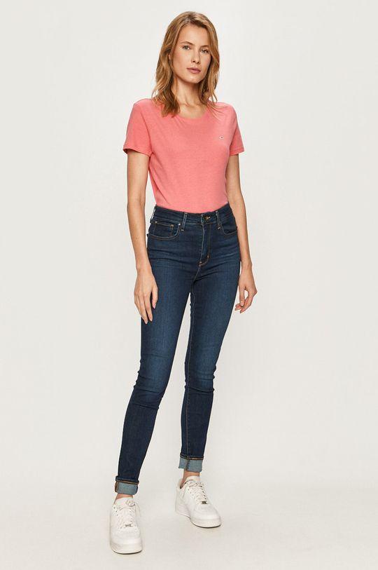 Tommy Jeans - Tričko ružová