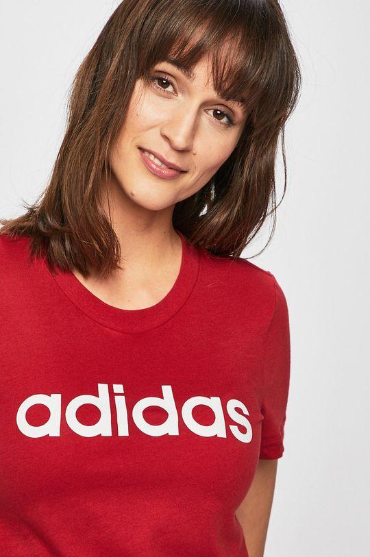 kármin vörös adidas - Top